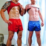 Beefy Irish Brothers Lee Andrews & Sean Andrews Jerk Off Together