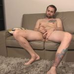 Manly South California Guy Dennis Gets A Helping Hand & Blowjob