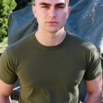 Young & Handsome Military Dude Sammy Nicks Strokes His Stiff Cock