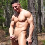 Two Ripped & Hung Sportsmen Jax & K Rage Jerking Off In Nature