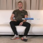 Tall, Handsome & Very Muscular Straight Jock Dominic Wants To Become A Porn Star