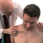 Hot Beefy Builder Oleg & Arrogant Handsome Businessman Joseph Get Examined By Pervy Doctor