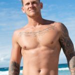 Extra-Hot, Hung & Muscular Aussie Surfer Brett Gets His First Blowjob From A Guy