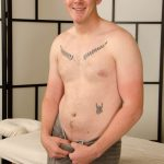 Cute Beefy Straight Guy Jared Gets His First Proper Happy-Ending Massage