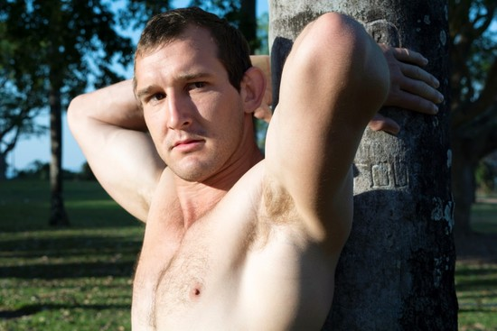 Muscled and Extra-Hung Dude Steve from AllAustralianboys