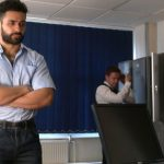 Muscular & Hairy Man Richard Gets Thoroughly Tested As A Debt Collector Officer