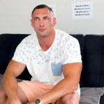 Big & Muscular Stud Brodie Daniels At His First Porn Casting