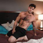 Stern Hung Leeroy Jones Teaches His Ripped Hairy Boyfriend Aspen Some Discipline