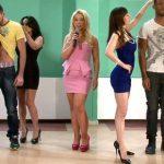 CFNM Wars 2 – Horny, Aggressive Ladies Enjoy Two New Contestants Lukas & Obinna