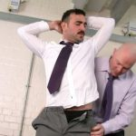 Hot Hairy Businessman Pete Gets Fully Inspected by His Pervy Superior