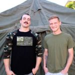 Big-Dicked Military Stud Alex James Fucks His Buddy Jesse Nice Hard & Raw