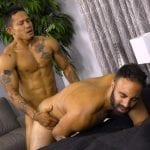 Hot, Muscular Studs Lorenzo & Basil Flip-Flop Fucking Hard and Raw