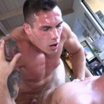 Ripped Cocky Dude Travis Youth Teaches The New Guy How To Fuck