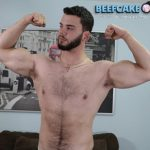 Big, Beefy & Tall Stud Josue Gets His First Blowjob From A Guy