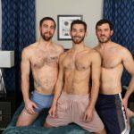Hot Hairy Studs Vander, Michael Mission & Mitch Matthews In A Raw Tagteam